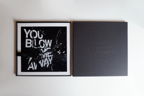 Box inner, cover and Blow Me Away print