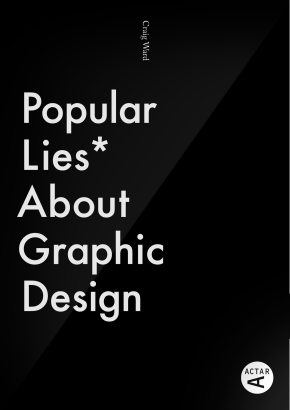 Popular Lies About Graphic Design - front cover